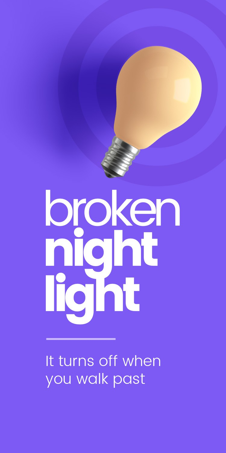 Broken Night Light